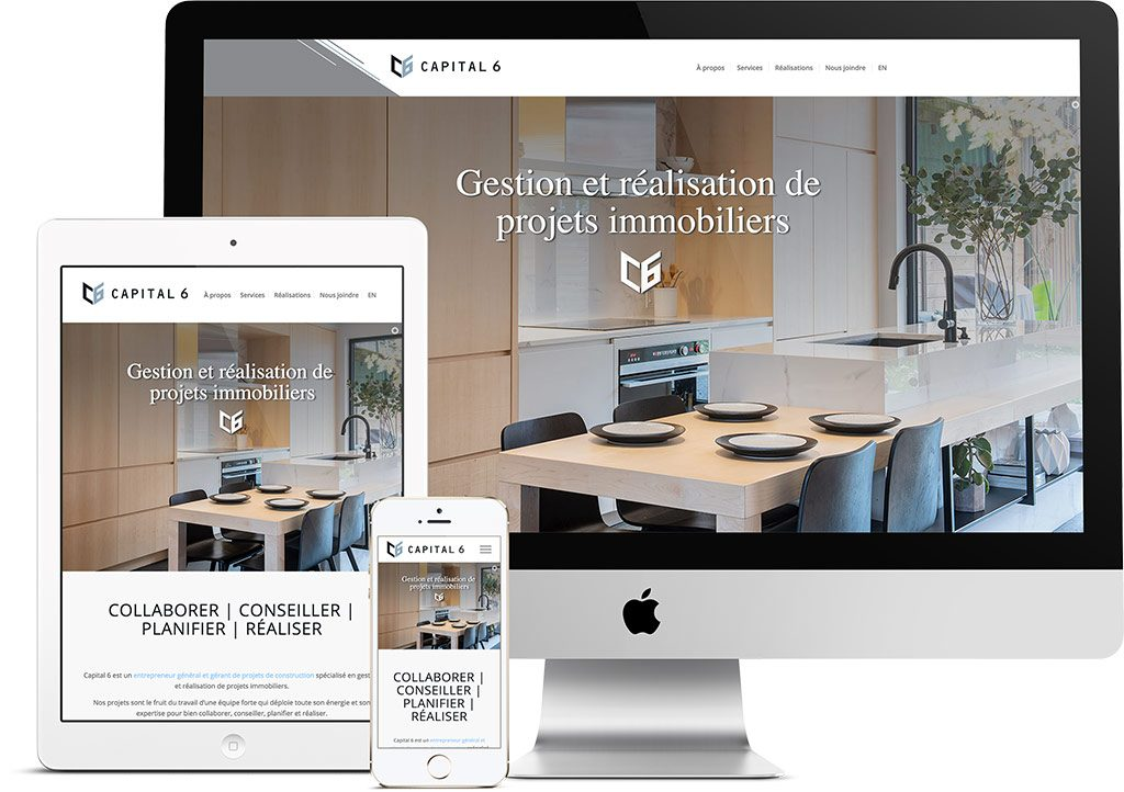 Website Capital 6 | Projects | King Communications