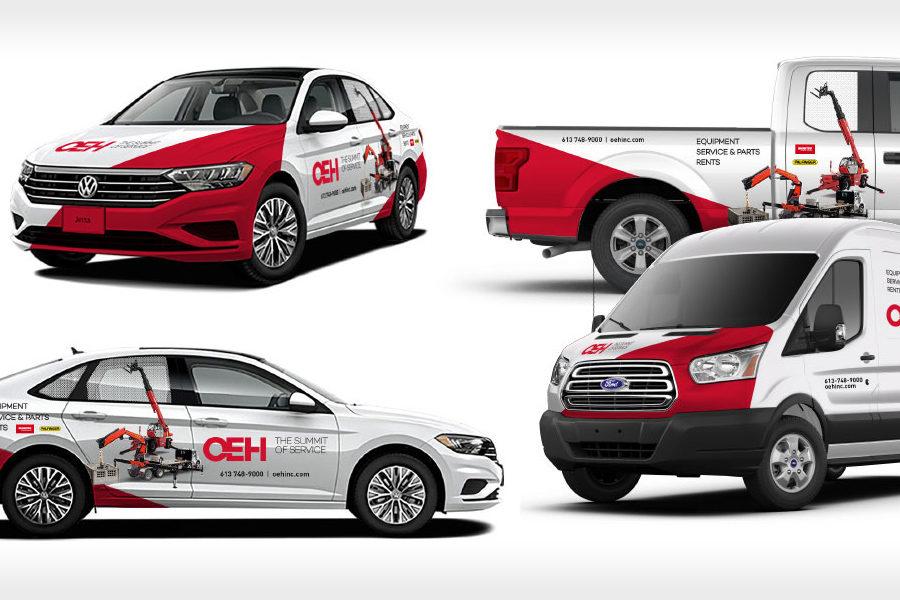 King Communications - Branding et image de marque - OEH